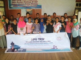 Edu Trip Penerima Beasiswa Maluku Cerdas