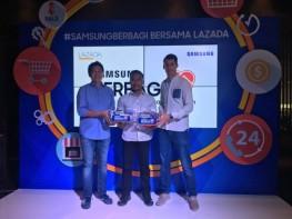 Samsung Lazada Dukung Pendidikan Anak-Anak Maluku