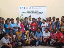 Pendidikan dan Pelatihan Tenaga Pendidik PAUD Kecamatan Saparua