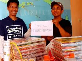 Dukungan Buku Untuk Festival Pendidikan Banda 2018