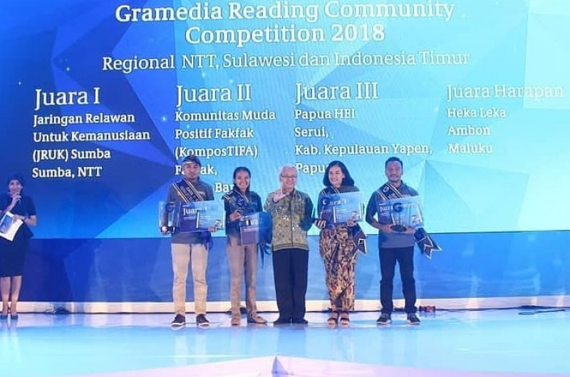 Awarding Gramedia Reading Community Competition (GRCC)