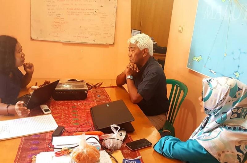 Sharing bersama Om Bob Latuheru, koordinator Program Kerjasama Ambon-Vlissingen