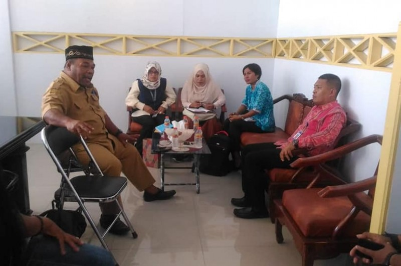 Pertemuan Bersama Kepala Kantor Bahasa Maluku, Komunitas Literasi, Duta Baca Maluku dan Kepala Perpustakaan Daerah Provinsi Maluku