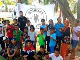 Kickboxing class bersama Bung @deeffitness Moluccan Fighters, hari ke-2