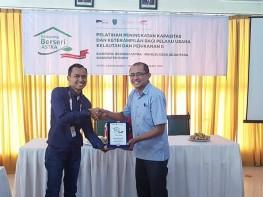 Pelatihan Peningkatan Kapasitas Dan Ketrampilan Bagi Pelaku Usaha Kelautan Dan Perikanan II di Kepulauan Buru, Kota Namlea