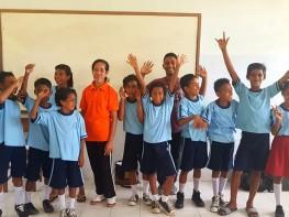 Goes To School Untuk Siswa Dan Guru Di SD Negeri 3 Haria.