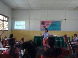 "Workshop for Preschool Teacher in Saparua with the topic ""Introduction to Play-Based Learning Method."