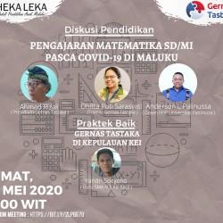 Pengajaran Matematika SD/MI Pasca Covid-19 di Maluku