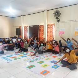 Ditengah pandemi Covid-19, Heka Leka dengan dukungan WEA membuat pelatihan guru PAUD di  kecamatan Leitimur Selatan