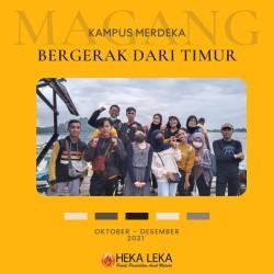 Mahasiswa Medeka Belajar Kampus Merdeka (MBKM), Dalam Program Bergerak dari Timur Dengan ThinkWeb - Yayasan Hekaleka